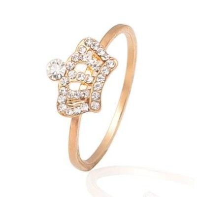 Free shipping!Fashion jewelry rings, crown ring, JZ217, unadjustable size, sold in 10pcs per pack