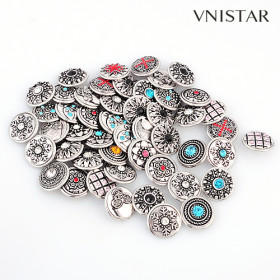 1bag=50pcs=USD15, mixed chunk charms, button chunk with stones, chunk accessories, NC-MIX8, size in 18mm, sold per pkg of 50pcs