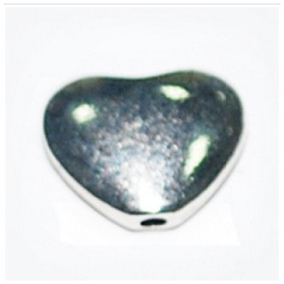 Charms, heart shaped charm, heart floating charm, accessories, AC136, size in 9*10mm, 100pcs/pack
