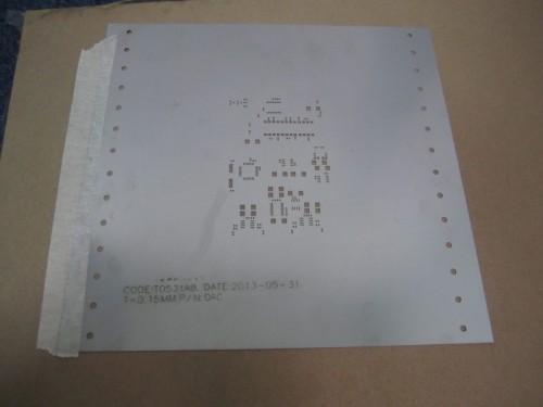 Трафарет для печатных плат без алюминиевой рамки для pcbquick