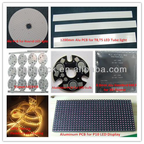 HDI Rigid Copper PCB Boards With 0.65mm Thickness Teflon RF35