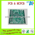 fr4 double sided pcb green solder mask