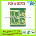 2 Layers Custom PCB Boards , FR4 , Double Side 0.8mm thick