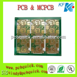 HDI Rigid Copper PCB Boards With 0.65mm Thickness Teflon RF35