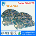 plating gold fr4 double-sided pcb with 1.6mm thickness 2 layer