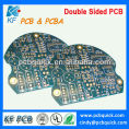 Manufacture blue solder mask and enig surface finish 1 oz copper thickness 2 layer pcb