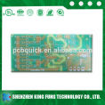 2 layer fr4 based material rigid pcb board Manufacturer