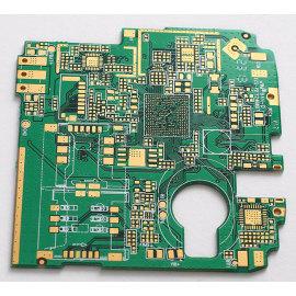 FR4 8-слойный PCB-94V 0 с процессом золочения