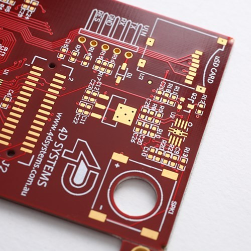 FR4 HDI PCB Printed Circuit Board with Red Solder-mask