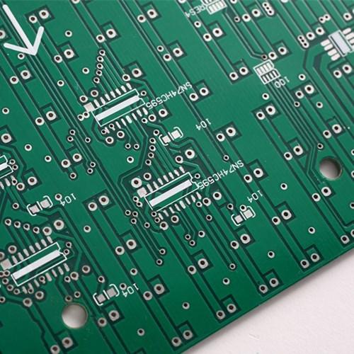 Двухслойная печатная плата для светодиодного экрана