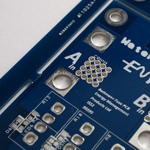 Двухслойная синяя паяльная плата HAL-Free PCB Board