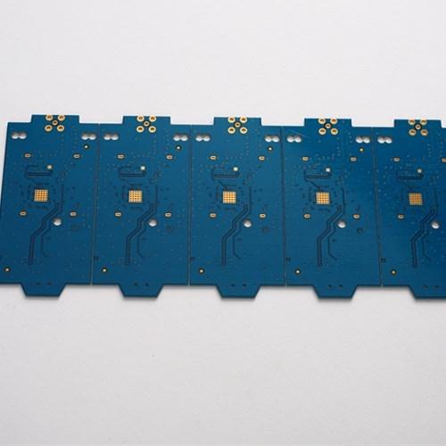 10-слойная многослойная печатная плата с синей паяльной маской