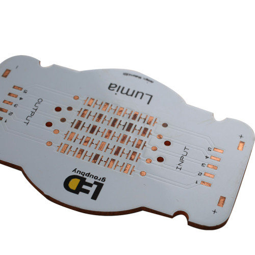 types of printed circuit board Copper base board clad MCPCB