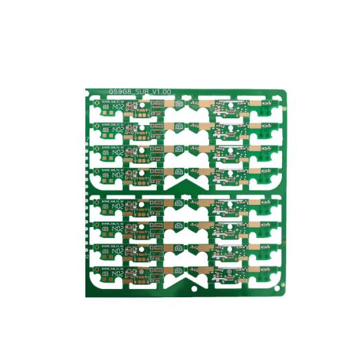 FR4 0,4 мм 4-слойная печатная плата PCB с зеркальным макияжем