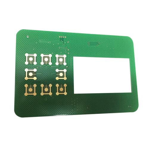 FR4 1,6-миллиметровая схема маршрутизации глубины