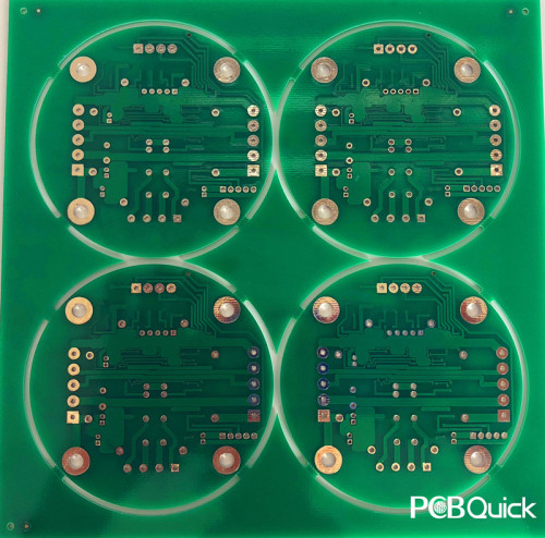 FR4 Double Sided LED PCB for pcbquick