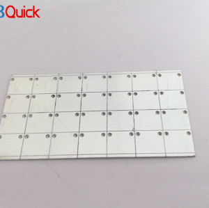 high power pcb Single-Sided aluminium PCB material for pcbquick
