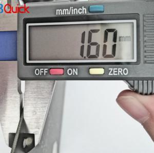 Score clock fr4 printed circuit board for pcbquick