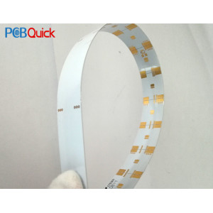 LED soft metal aluminum plate for pcbqucik
