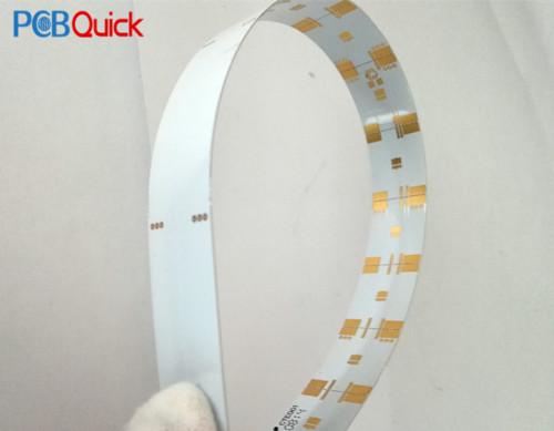 Светодиодная мягкая металлическая алюминиевая пластина для pcbqucik