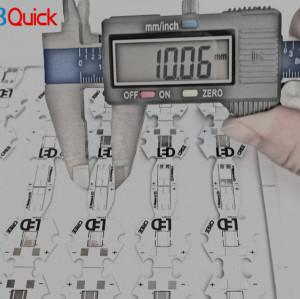 LED cutter electronics aluminum pcb for pcbquick