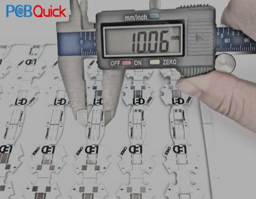 Светодиодная режущая электроника алюминиевая печатная плата для pcbquick