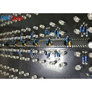 PCB prototype manufacturing: LED traffic signal display PCB assembly