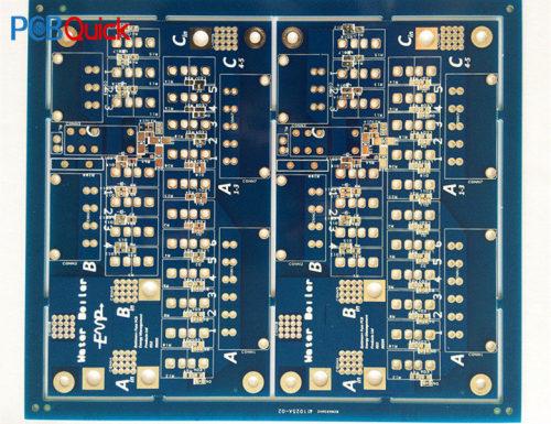 Экспресс-изготовление трафарета fr4 pcb -Blue многослойная монтажная плата