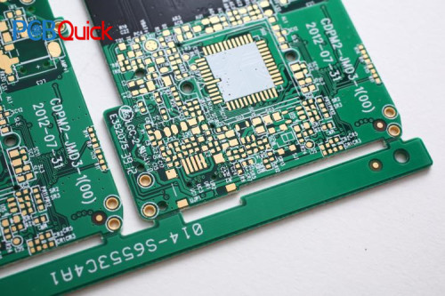 Double sided Printed Circuit Board manufacturing with 24hours Quick turn PCB prototype  services