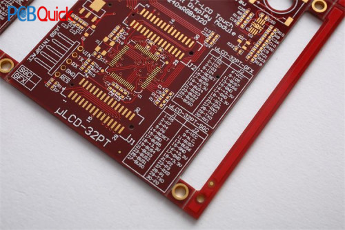 FR4 0.4mm 4layer PCB Circuit Board With Mirror makeup