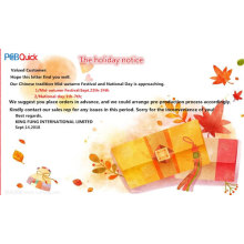 Mid-Autumn Festival&National Day holiday notice