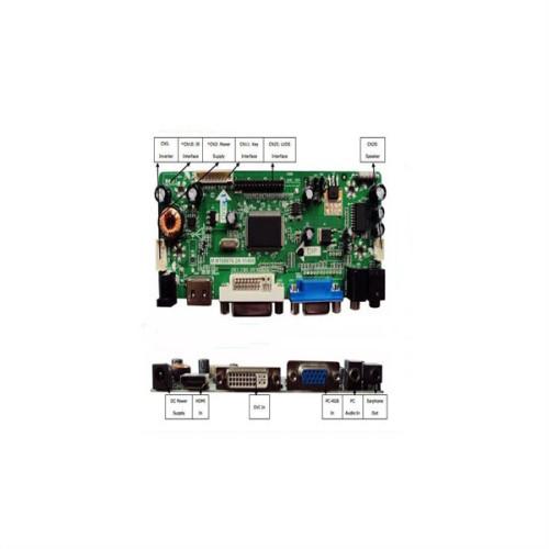 custom lcd controller pcb display lcd control printed circuit board
