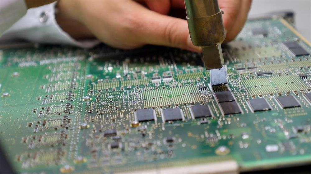 the wiring process of the printed circuit board
