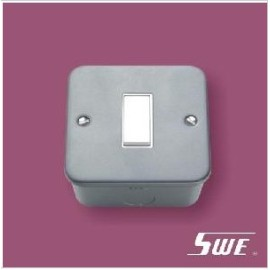 1 Gang Plate Switch 10A 250V (M Range)