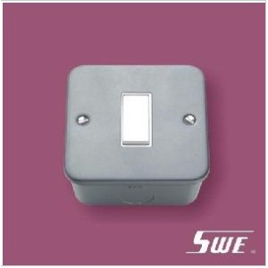 1 Gang Plate Switch 10A 250V (M Range)