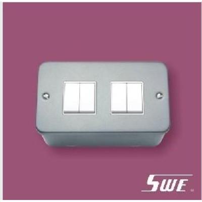 4 Gang Plate Switch 10A 250V (M Range)