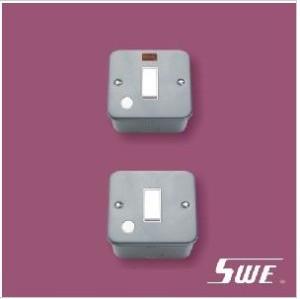 Flush Switch With F/0 20A DP (M Range)
