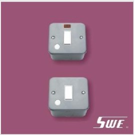 Flush Switch With F/0 20A DP (M Range)