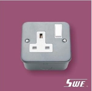 1 Gang Socket Outlet 13A (M Range)