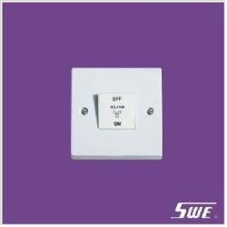 1 Gang 3-Pole Fan Switch 10AX 250V (N Range)