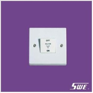 1 Gang 3-Pole Fan Switch 10AX 250V (N Range)