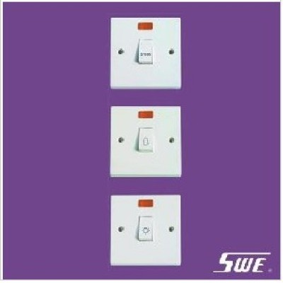 Bell Switch With Neon 10A 250V (N Range)