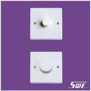 1 Gang Dimmer Switch 250V (N Range)