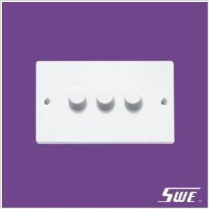 3 Gang Dimmer Switch 250V (N Range)