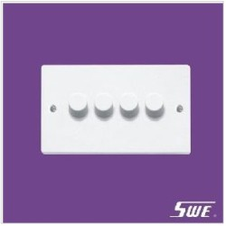 4 Gang Dimmer Switch 250V (N Range)
