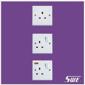 1 Gang Socket Outlet 13A (N Range)