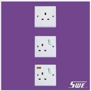 1 Gang Socket Outlet 13A (N Range)