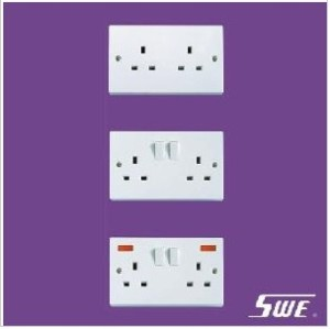 2 Gang Socket Outlet 13A (N Range)
