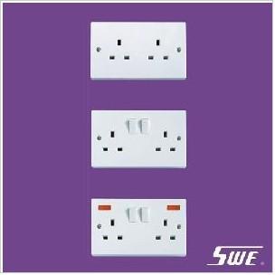 2 Gang Socket Outlet 13A (N Range)