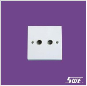 2 Gang TV Socket (N Range)